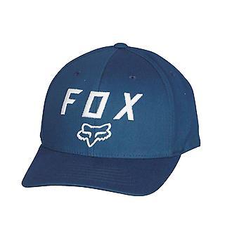 Fox głowy 110 Flexfit z efektem wytarcia Snapback Cap ~ ćma Legacy niebieski