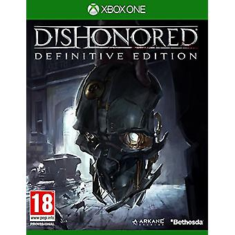 Dishonored The Definitive Edition (Xbox One) - Factory Sealed