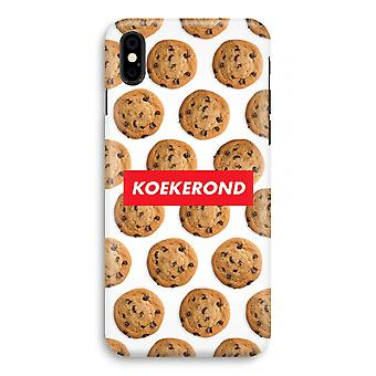 iPhone X Full Print Case (Glossy) - Koekerond