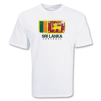 Шри Ланка футбола футболку