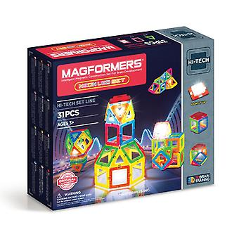 Magformers Neon LED Magnetic construction set for brain development