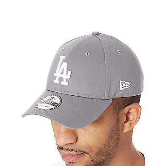 New Era Storm Gray-Optic White League Essential 9Forty Los Angeles Curved Peak S