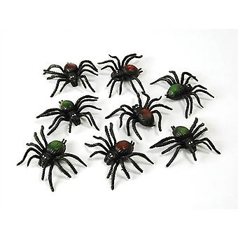 Bnov Scary Creatures  Spiders (8/Pkt)