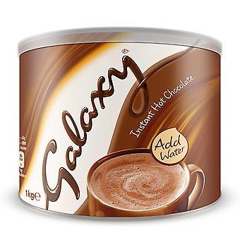 Galaxy heiße Schokolade