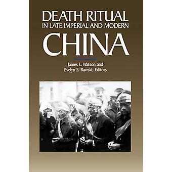 Death ritualer i slutten Imperial og moderne Kina av James L. Watson - E