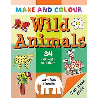 Make and Colour Wild Animals by Clare Beaton - Clare Beaton - 9781902