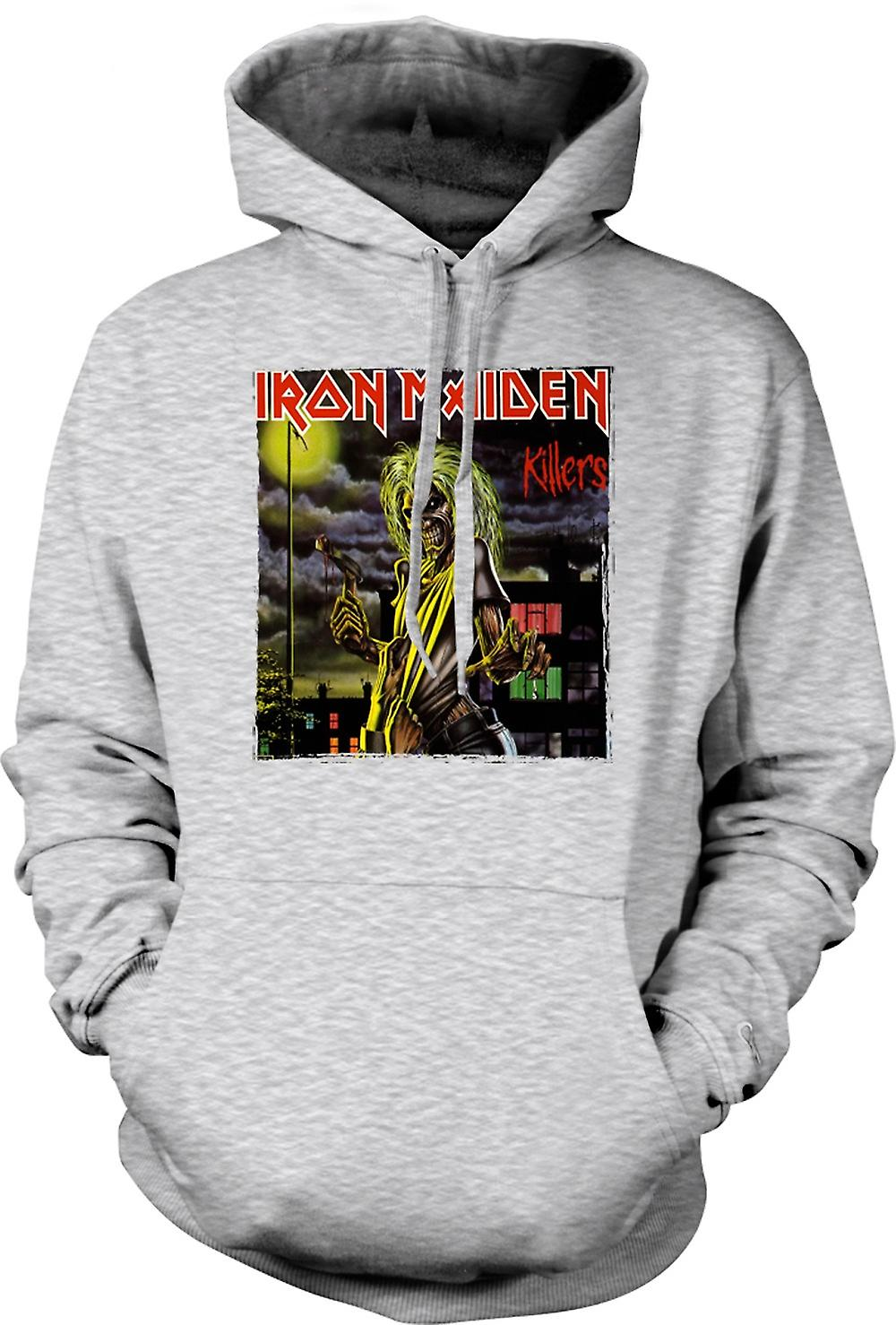 Mens Hoodie - Iron Maiden - Killers Album Art