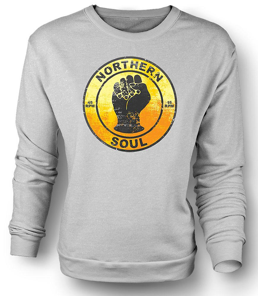 Mens Sweatshirt Northern Soul - Vinyl Music