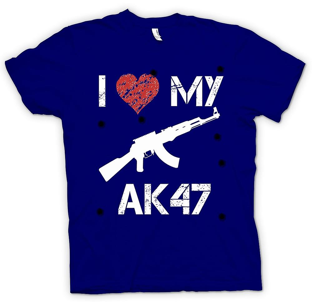 Mens t-shirt - amo mio AK47 - divertente