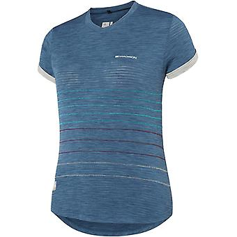 Madison Ink Navy-Silver Grey 2018 Leia Womens Short Sleeved MTB Jersey