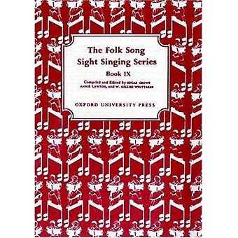 Volkslied aus den Augen singen Buch 9: BK 9