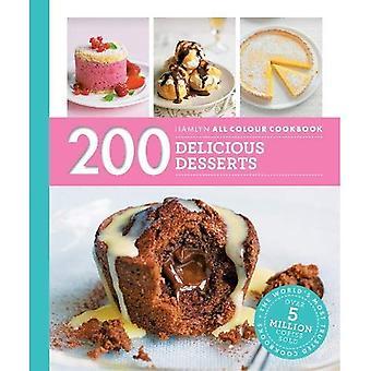 Hamlyn All färg Cookery: 200 läckra desserter: Hamlyn All färg kokbok - Hamlyn All färg Cookery