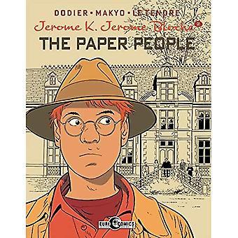 Jerome K. Jerome Bloche Vol. 2 The Paper People