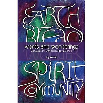 Words and Wonderings