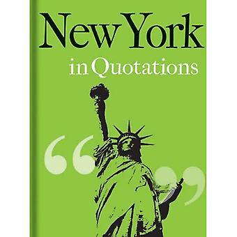New York in Zitaten