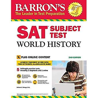 Barron's SAT Subject Test World History, 2nd Edition:� With Bonus Online Tests