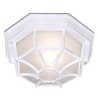 Vita sexkantiga utomhus infälld taklampa - strålkastare 2942WH