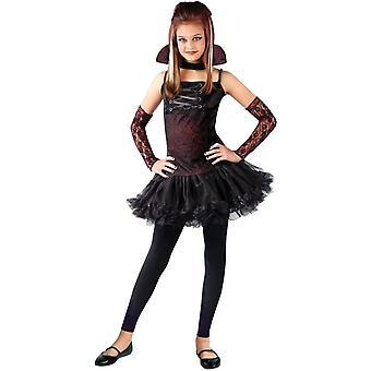 Vampiress Balerina Child Costume