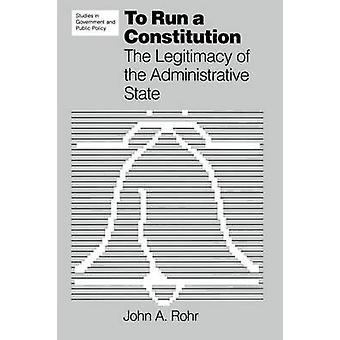 Para ejecutar una Constitución por Rohr y John A.
