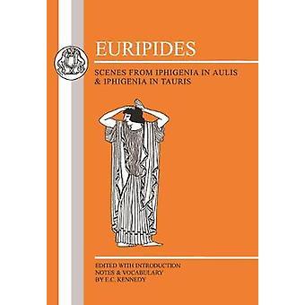 Euripides scènes uit Iphigeneia in Aulis en Iphigeneia in Tauris van Euripides