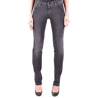 Zwarte katoenen Jeans van Jacob Cohen