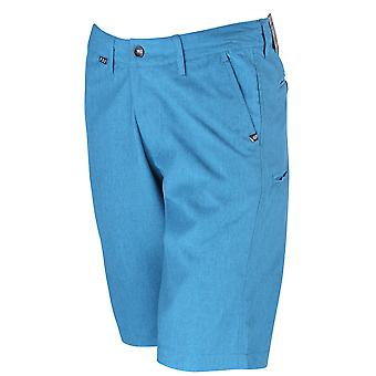 Fox Racing Mens Essex Tech Casual leve Shorts - Heather Recife azul