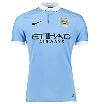 2015-2016 Man City authentische Home Nike Shirt