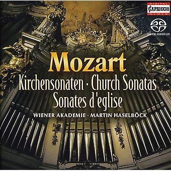 W.a. Mozart - Mozart: Church Sonatas [CD] USA import