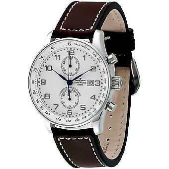 Zeno-watch X-large rétro mens montre chronographe Bicompax P557BVD-e2