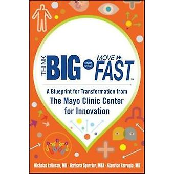 Think Big Start Small Move Fast A Blueprint for Transformation from the Mayo Clinic Center for Innovation by Nicholas LaRusso & Barbara Spurrier & Gianrico Farrugia