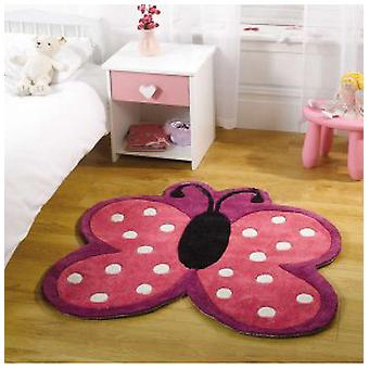 Rugs - Kiddy Polka Butterfly Multi