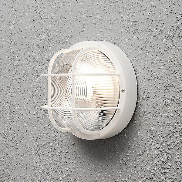 Konstsmide 7651 Mantova Single Plastic Round Outdoor Wall Light