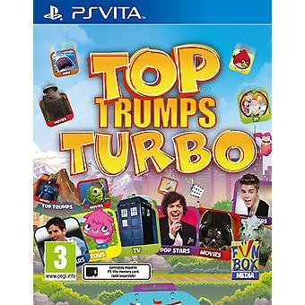 Top Trumps Turbo PlayStation Vita