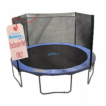 6' Trampoline Enclosure Safety Net Fits for 6 FT. Round Frames using 4 Straight Poles, Installs Outside of Frame (poles not included)