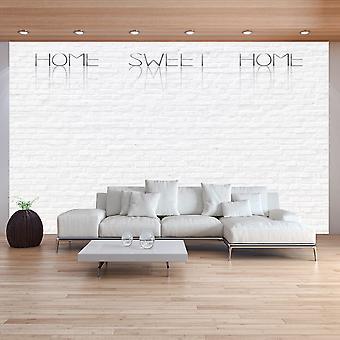 Tapet-hem, söt hem-vägg