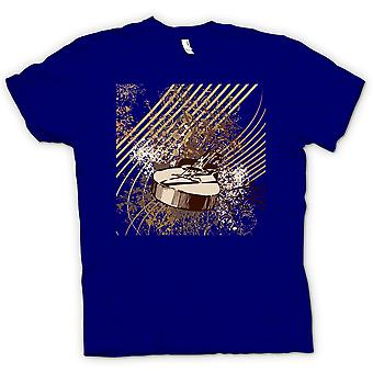 Mens T-shirt - Acoustic Guitar Pop Art