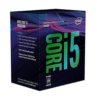 Intel Core i5-8400 CPU, 1151, 2,8 GHz (4.0 Turbo), 6-Core, 65W, 14nm, 9MB Cache, UHD GFX, Kaffee See