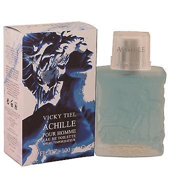Achille Pour Homme Eau De Toilette Spray By Vicky Tiel 100 ml