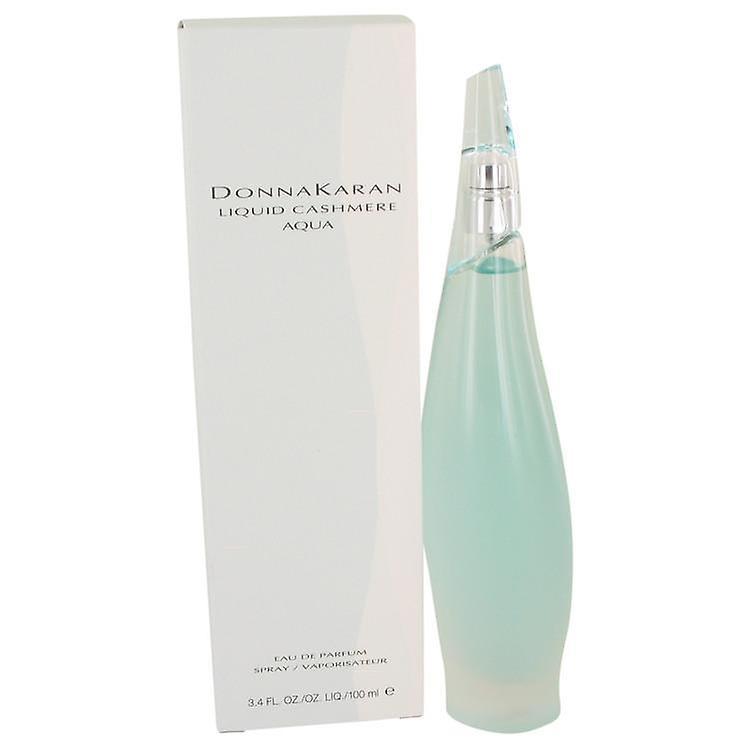 Liquid Cashmere Aqua Eau De Parfum Spray By Donna Karan 100 ml