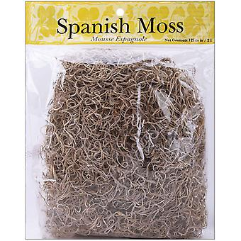 Spanish Moss 4 Ounces Pkg Natural 21061