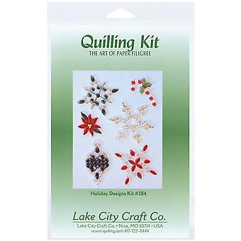 Quilling Kit Holiday Q284