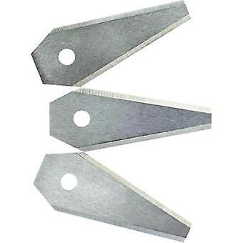 Replacement blade 3-piece set Bosch Home and Garden F016800321 Suitable for: Bosch Indego, Bosch Indego 1000 Connect