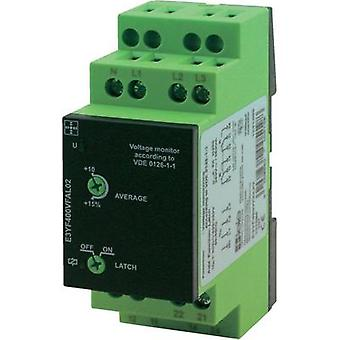 tele 1341400 E3YF400VFAL02 Gamma 3-Phase Voltage Monitoring Relay, VDE 3-phase voltage monitoring according to VDE 0126-