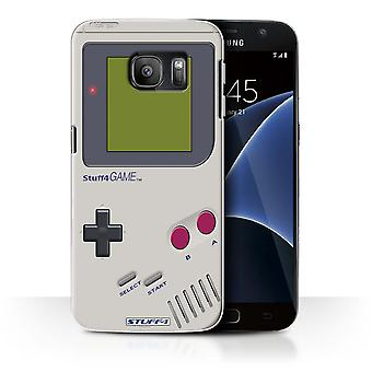 STUFF4 Case/Cover for Samsung Galaxy S7/G930/Nintendo Game Boy/Games Console