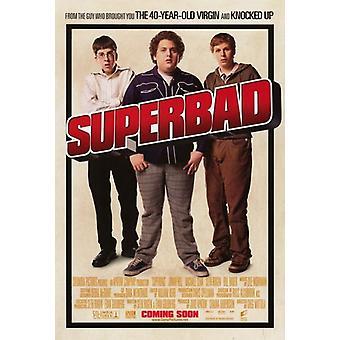 Superbad фильм плакат (11 x 17)