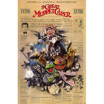 The Great Muppet Caper Movie Poster (11 x 17)