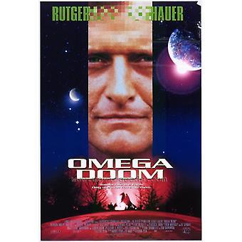 Omega Doom filme Poster Print (27 x 40)