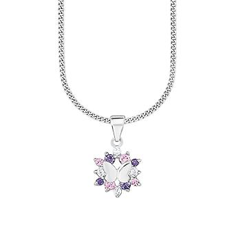 Princess Lillifee child kids necklace silver Butterfly PLFS/81 - 566780