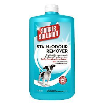 Simpel løsning hund bejdse & Lugt Remover 1ltr