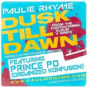 Paulie RIM - Dusk Till Dawn [Vinyl] USA import